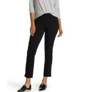 New Vince Pants Stretch Knit Slim Fit Crop Pull On